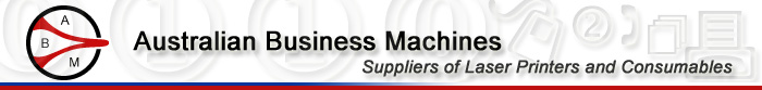 Australian Business Machines - Suppliers and Service of Laser Printers, Computers and Consumables
